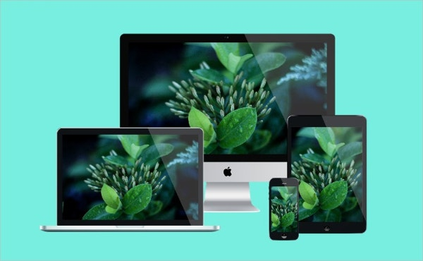 Free PSD Photorealistic Apple Devices Mockup