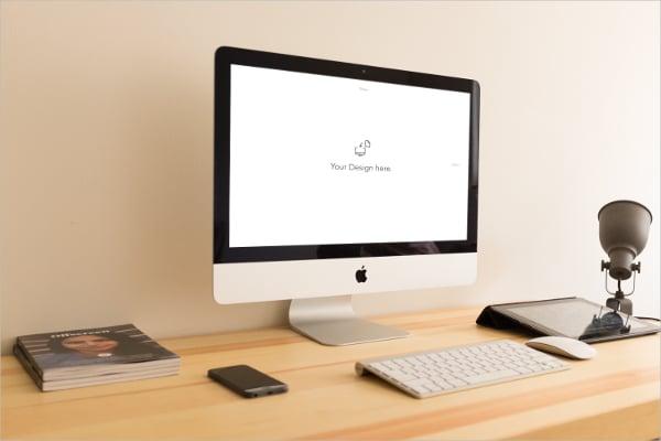 iMac Mockup Device