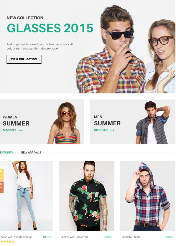 Typography eCommerce WordPress Theme