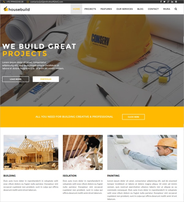 Business & Construction Industry Mura Theme $48