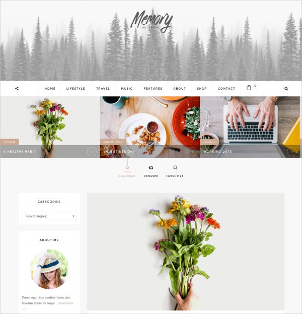 Elegant Mobile Friendly WordPress Blog Theme