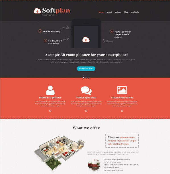 Mobile Friendly WordPress Theme for Mobile Application