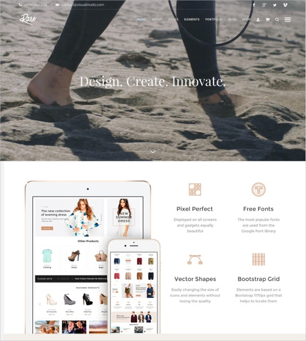 Multipurpose WordPress Mobile Friendly Theme