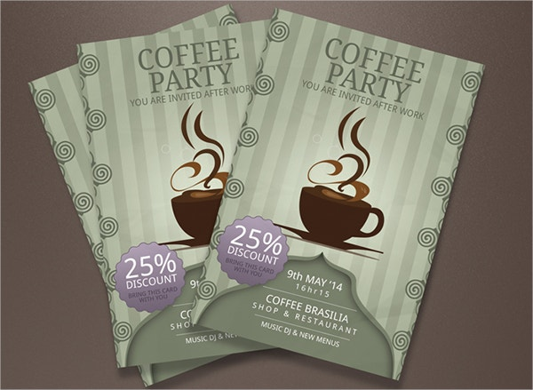 Discount Coffee Cheap Flyers