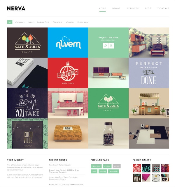 Responsive Photography Mura Bootstrap Theme $48