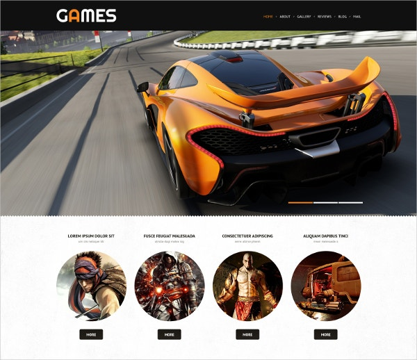 responsive retro gaming wordpress theme