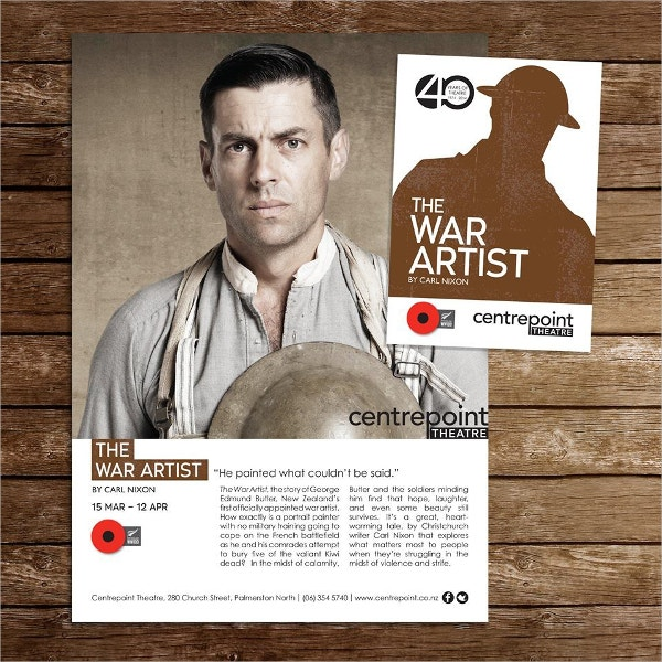 The War Artist Flyer