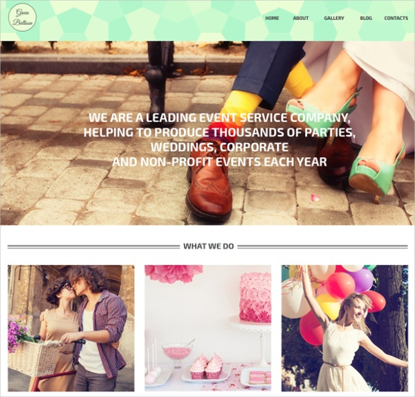 wedding events nonprofit wordpress theme