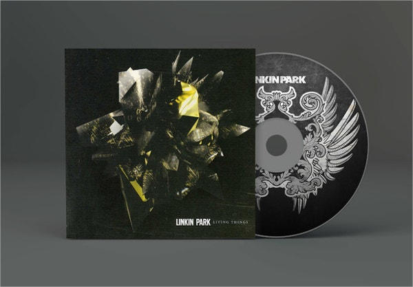 CD Artwork Mockup