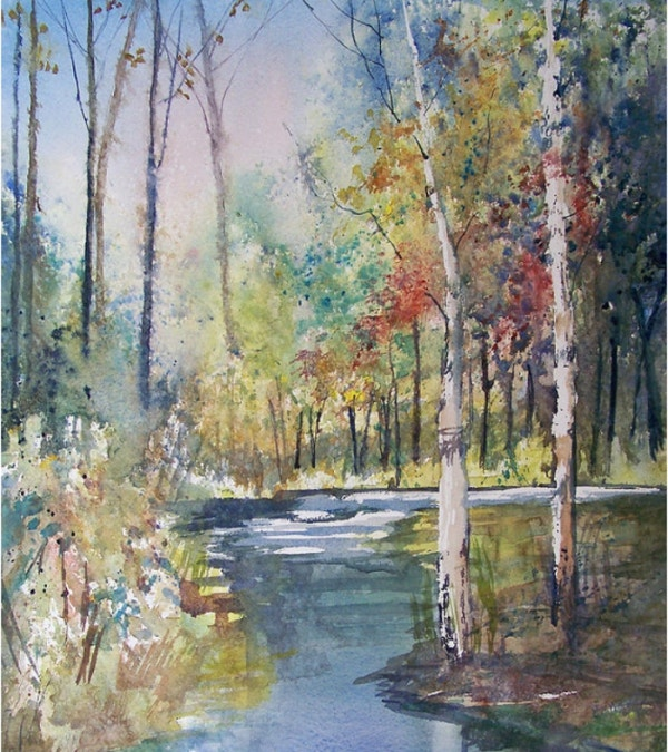 Hartman Creek Birches