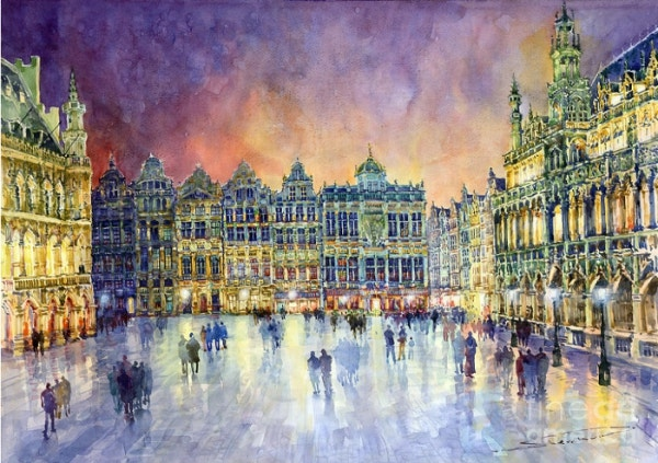 Belgium Brussel Grand Place