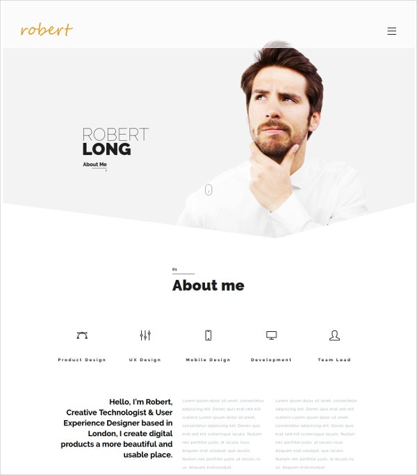 creative artist photography portfolio wordpress website theme 49