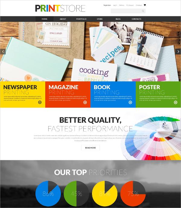 Artist Portfolio Print Store WooCommerce Website Theme $80