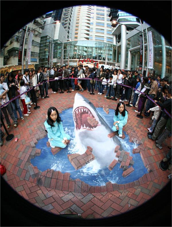 3D Dolphin Art