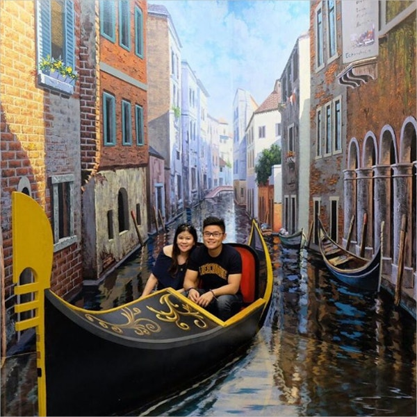 3d boating art