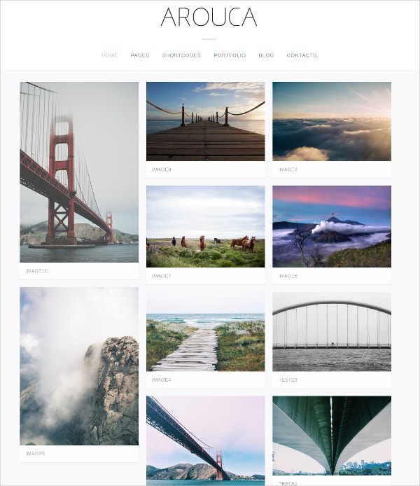 photography artist portfolio wp website theme 39