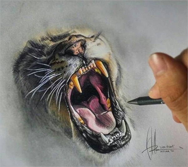 Realistic 3D art