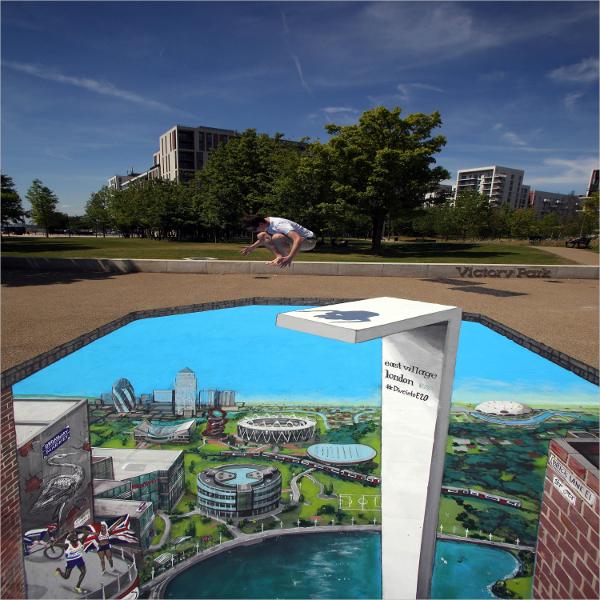 Olympic 3D Art