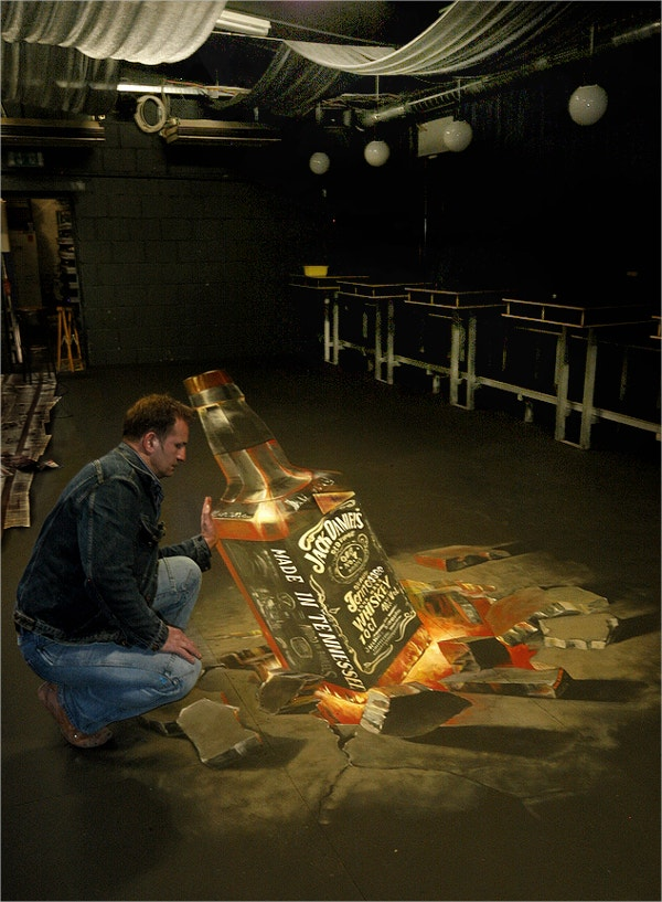 3D Chalk Drawing