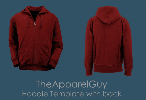 The Apparel Guy Hoodie Template