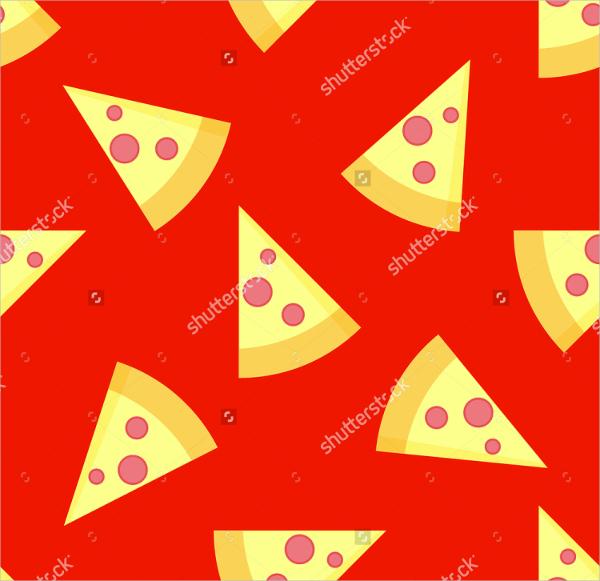 Flat Style Pizza Pattern