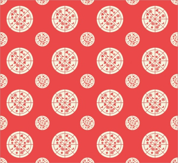 restaurant pizza decorative pattern