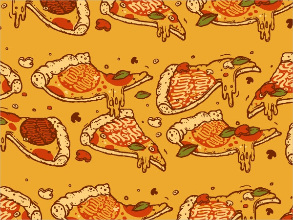 Yummy Pizza Pattern