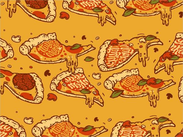 yummy pizza pattern