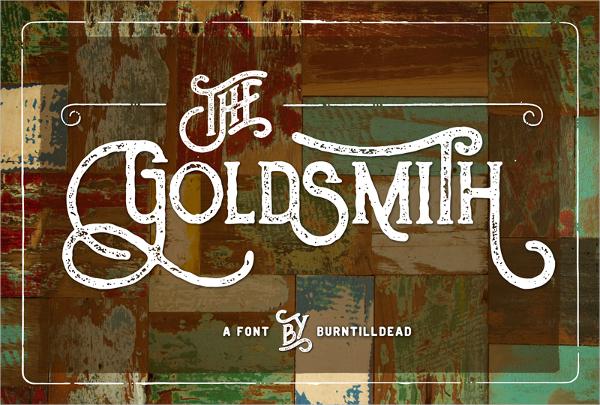 Goldsmith Typography Font