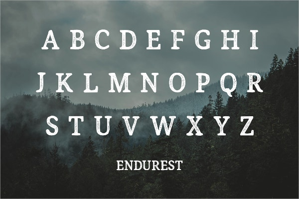 Endurest Typography Font