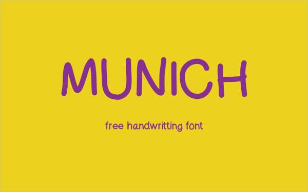 Munich Typography Font