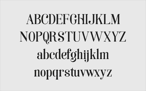 Soria Typography Font