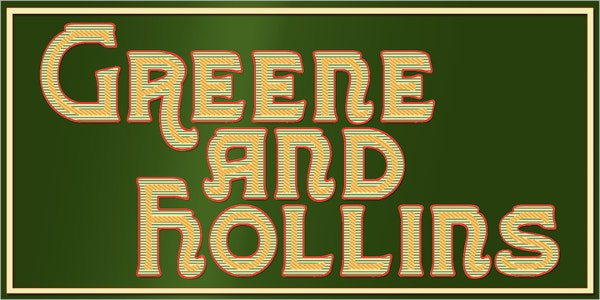greene and hollins typography font
