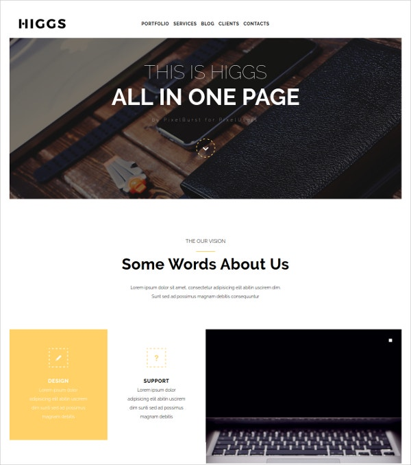 Responsive Multipurpose WordPress Theme $49