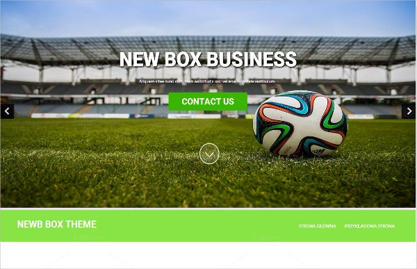 Business One Column WordPress Theme $20