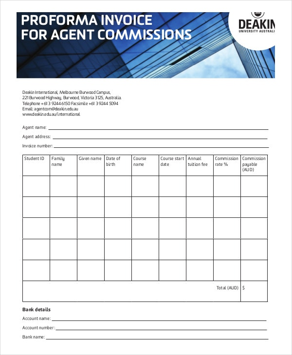 proforma-invoice-agent-commission