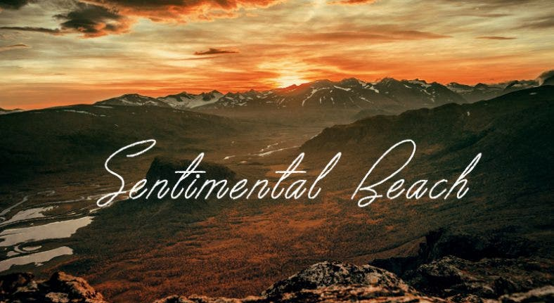 Sentimental Beach Font