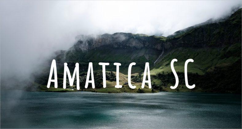 Amatica SC Font