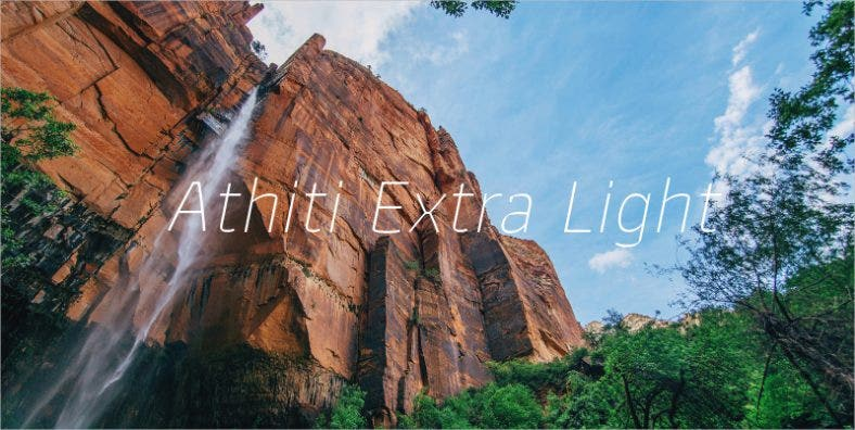 Athiti Extra Light