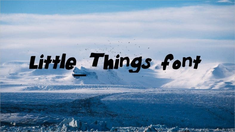 Little_Things font