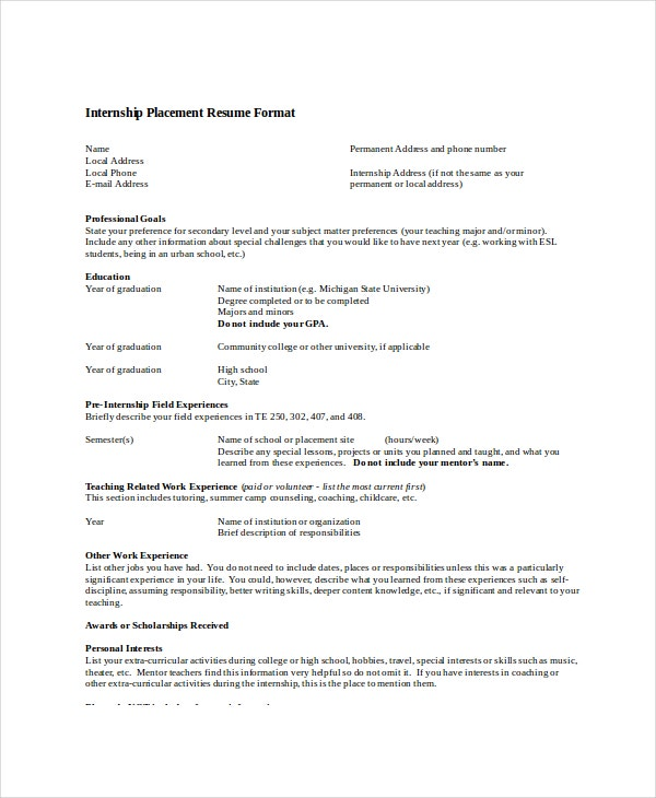 Optometrist Resume Template - 7+ Free Word, Pdf Documents Download