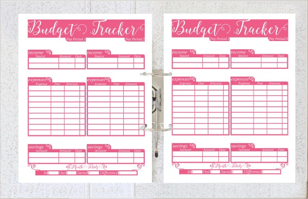 Printable Daily Budget Planner Template