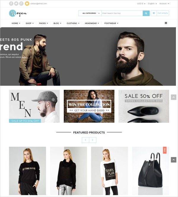 VirtueMart Fashion Accesssories Template $48