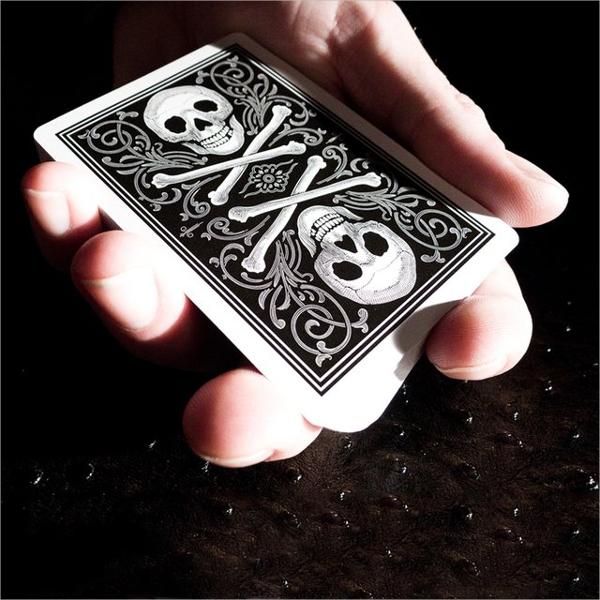 Skull & Bone Fancy Playing Cards