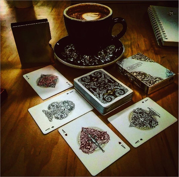 Magician Playing Cards