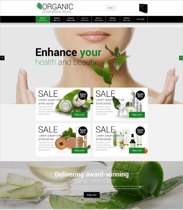 Minimal HTML5 Organic Template