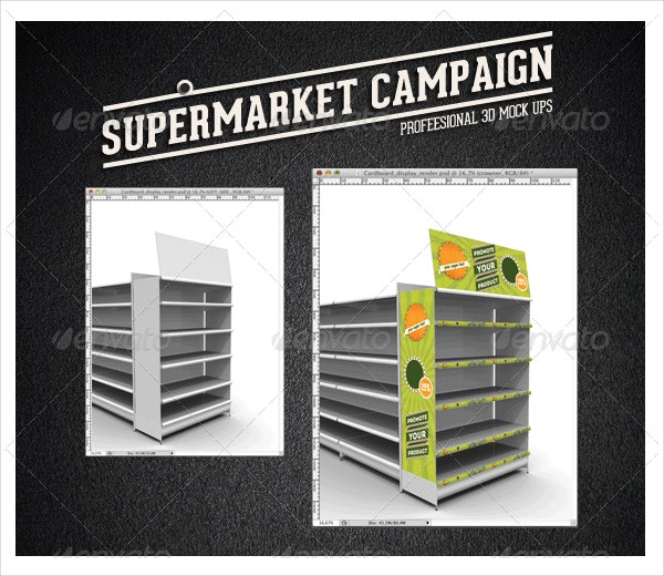 Supermarket Campaign Mock-up