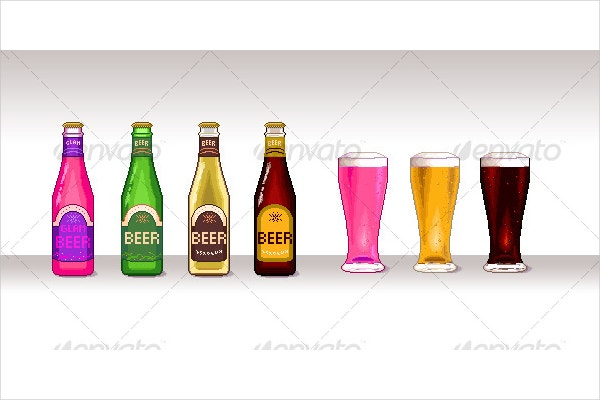 Pixel Beer Art