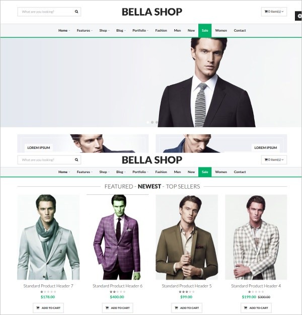 fashion store drupal theme