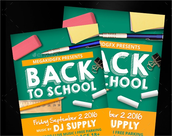 School Flyer Template  Free Psd Ai Vector Eps Format